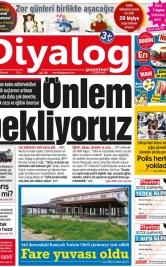 Diyalog Gazetesi - Kıbrıs'ta Haberin Merkezi - 18.03.2019 Manşeti