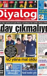 Diyalog Gazetesi - Kıbrıs'ta Haberin Merkezi - 19.04.2018 Manşeti