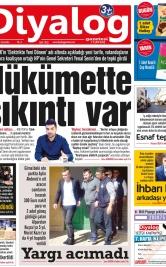 Diyalog Gazetesi - Kıbrıs'ta Haberin Merkezi - 20.03.2019 Manşeti