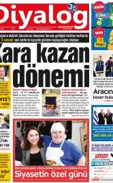Diyalog Gazetesi - Kıbrıs'ta Haberin Merkezi - 22.03.2019 Manşeti