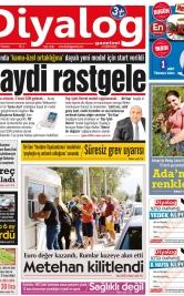 Diyalog Gazetesi - Kıbrıs'ta Haberin Merkezi - 25.03.2019 Manşeti