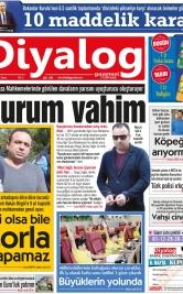 Diyalog Gazetesi - Kıbrıs'ta Haberin Merkezi - 20.04.2018 Manşeti