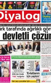 Diyalog Gazetesi - Kıbrıs'ta Haberin Merkezi - 21.04.2018 Manşeti