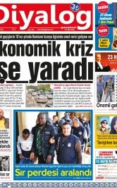Diyalog Gazetesi - Kıbrıs'ta Haberin Merkezi - 23.04.2019 Manşeti