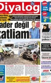 Diyalog Gazetesi - Kıbrıs'ta Haberin Merkezi - 25.04.2019 Manşeti