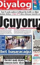 Diyalog Gazetesi - Kıbrıs'ta Haberin Merkezi - 18.09.2019 Manşeti