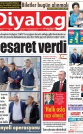 Diyalog Gazetesi - Kıbrıs'ta Haberin Merkezi - 15.11.2019 Manşeti