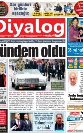 Diyalog Gazetesi - Kıbrıs'ta Haberin Merkezi - 16.11.2019 Manşeti