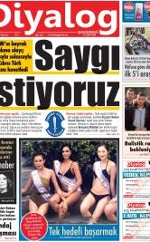 Diyalog Gazetesi - Kıbrıs'ta Haberin Merkezi - 18.11.2019 Manşeti