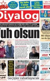 Diyalog Gazetesi - Kıbrıs'ta Haberin Merkezi - 09.12.2019 Manşeti