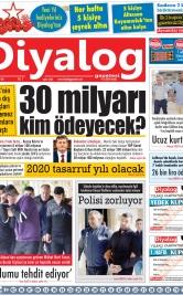 Diyalog Gazetesi - Kıbrıs'ta Haberin Merkezi - 10.12.2019 Manşeti