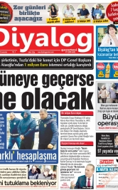 Diyalog Gazetesi - Kıbrıs'ta Haberin Merkezi - 18.01.2020 Manşeti