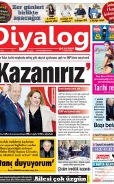 Diyalog Gazetesi - Kıbrıs'ta Haberin Merkezi - 19.01.2020 Manşeti