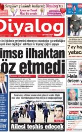 Diyalog Gazetesi - Kıbrıs'ta Haberin Merkezi - 12.02.2020 Manşeti
