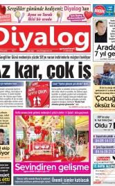 Diyalog Gazetesi - Kıbrıs'ta Haberin Merkezi - 13.02.2020 Manşeti