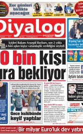 Diyalog Gazetesi - Kıbrıs'ta Haberin Merkezi - 15.02.2020 Manşeti