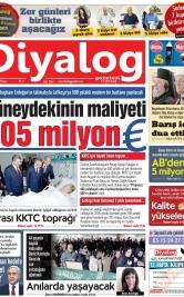 Diyalog Gazetesi - Kıbrıs'ta Haberin Merkezi - 16.02.2020 Manşeti
