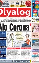 Diyalog Gazetesi - Kıbrıs'ta Haberin Merkezi - 29.03.2020 Manşeti