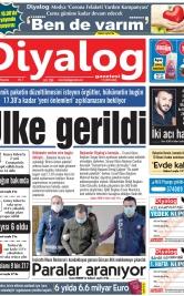 Diyalog Gazetesi - Kıbrıs'ta Haberin Merkezi - 30.03.2020 Manşeti