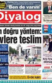 Diyalog Gazetesi - Kıbrıs'ta Haberin Merkezi - 31.03.2020 Manşeti