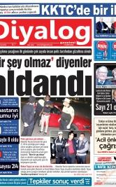 Diyalog Gazetesi - Kıbrıs'ta Haberin Merkezi - 01.04.2020 Manşeti