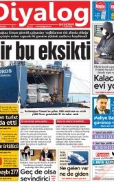 Diyalog Gazetesi - Kıbrıs'ta Haberin Merkezi - 02.04.2020 Manşeti