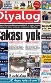 Diyalog Gazetesi - Kıbrıs'ta Haberin Merkezi - 05.04.2020 Manşeti