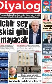 Diyalog Gazetesi - Kıbrıs'ta Haberin Merkezi - 06.04.2020 Manşeti