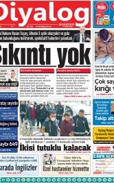 Diyalog Gazetesi - Kıbrıs'ta Haberin Merkezi - 07.04.2020 Manşeti