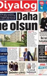 Diyalog Gazetesi - Kıbrıs'ta Haberin Merkezi - 08.04.2020 Manşeti