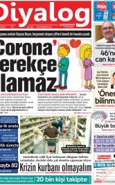 Diyalog Gazetesi - Kıbrıs'ta Haberin Merkezi - 09.04.2020 Manşeti