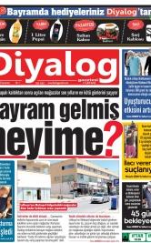 Diyalog Gazetesi - Kıbrıs'ta Haberin Merkezi - 23.05.2020 Manşeti