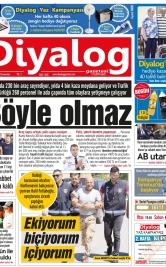 Diyalog Gazetesi - Kıbrıs'ta Haberin Merkezi - 19.05.2018 Manşeti