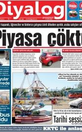 Diyalog Gazetesi - Kıbrıs'ta Haberin Merkezi - 25.05.2020 Manşeti