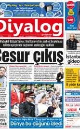 Diyalog Gazetesi - Kıbrıs'ta Haberin Merkezi - 20.05.2018 Manşeti