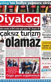 Diyalog Gazetesi - Kıbrıs'ta Haberin Merkezi - 22.05.2018 Manşeti
