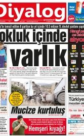 Diyalog Gazetesi - Kıbrıs'ta Haberin Merkezi - 23.05.2018 Manşeti