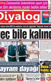 Diyalog Gazetesi - Kıbrıs'ta Haberin Merkezi - 03.08.2020 Manşeti