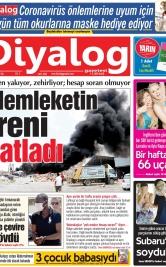 Diyalog Gazetesi - Kıbrıs'ta Haberin Merkezi - 04.08.2020 Manşeti