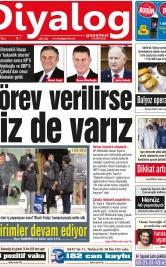 Diyalog Gazetesi - Kıbrıs'ta Haberin Merkezi - 29.11.2020 Manşeti