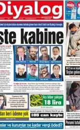 Diyalog Gazetesi - Kıbrıs'ta Haberin Merkezi - 30.11.2020 Manşeti