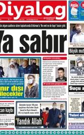Diyalog Gazetesi - Kıbrıs'ta Haberin Merkezi - 01.12.2020 Manşeti