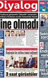 Diyalog Gazetesi - Kıbrıs'ta Haberin Merkezi - 02.12.2020 Manşeti