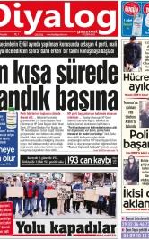 Diyalog Gazetesi - Kıbrıs'ta Haberin Merkezi - 03.12.2020 Manşeti