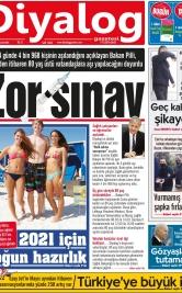 Diyalog Gazetesi - Kıbrıs'ta Haberin Merkezi - 20.01.2021 Manşeti
