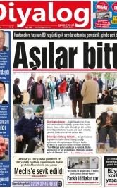 Diyalog Gazetesi - Kıbrıs'ta Haberin Merkezi - 22.01.2021 Manşeti