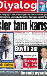 Diyalog Gazetesi - Kıbrıs'ta Haberin Merkezi - 25.01.2021 Manşeti