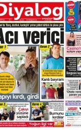 Diyalog Gazetesi - Kıbrıs'ta Haberin Merkezi - 17.06.2018 Manşeti