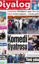 Diyalog Gazetesi - Kıbrıs'ta Haberin Merkezi - 12.04.2021 Manşeti