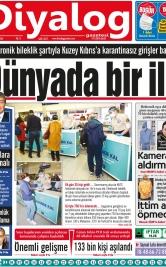 Diyalog Gazetesi - Kıbrıs'ta Haberin Merkezi - 13.04.2021 Manşeti